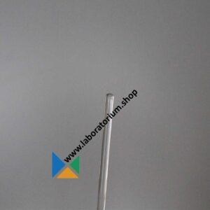 Roerstaven van AR-glas 300 mm, uitw.diam. 7 mm, met rond gesmolten uiteinden